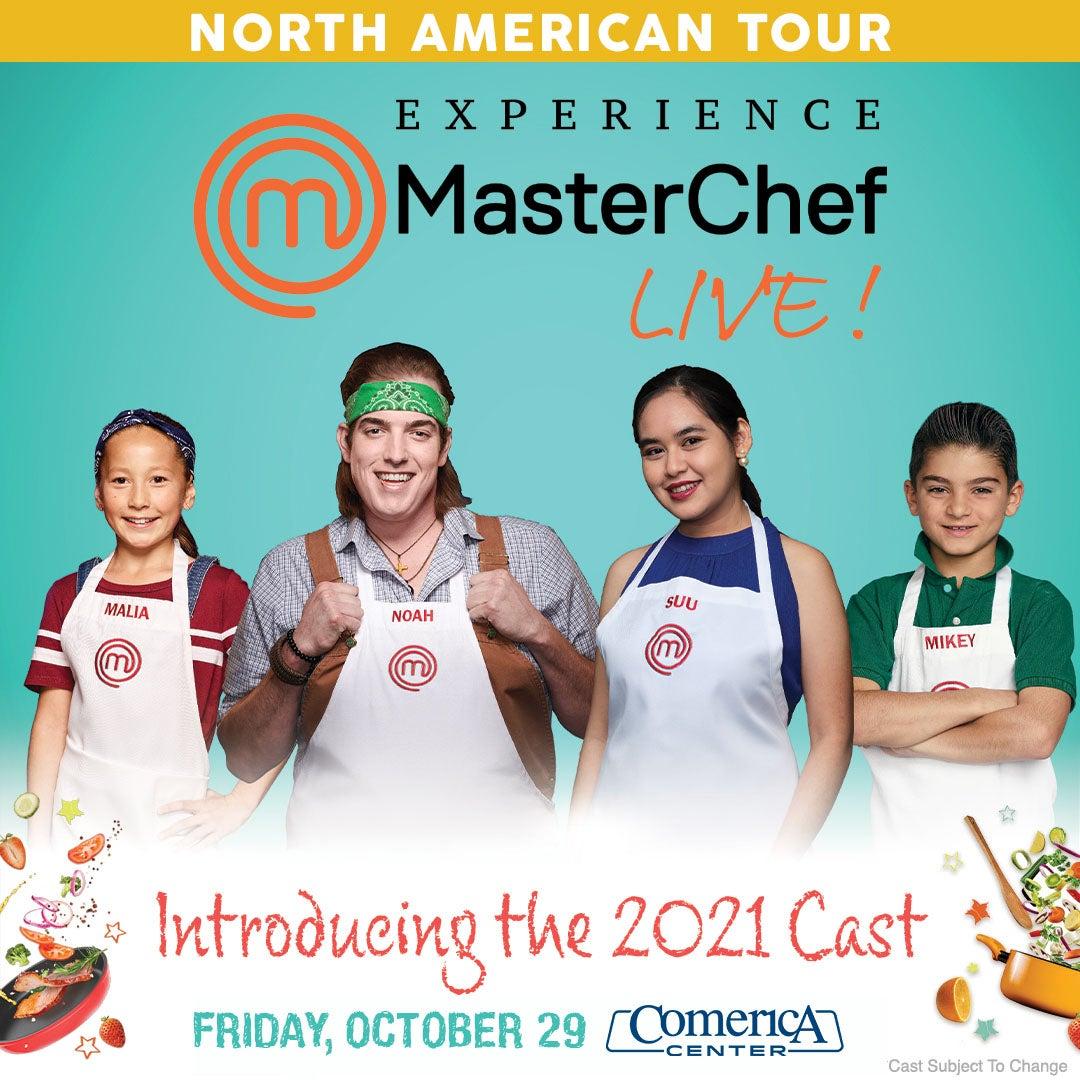 More Info for MasterChef Live! Cast Announcement