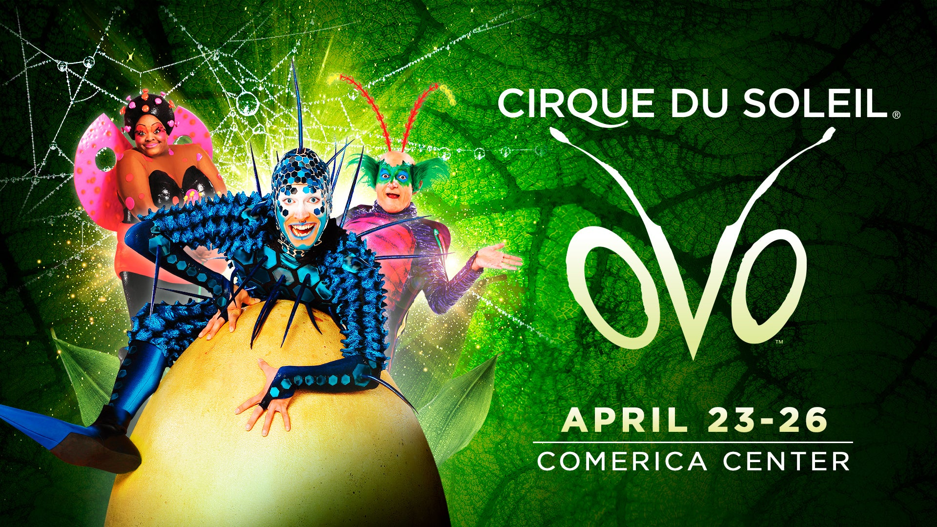 CANCELLED: Cirque du Soleil OVO