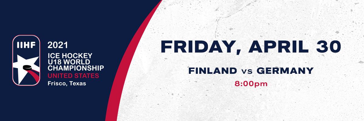 IIHF- Finland vs Germany
