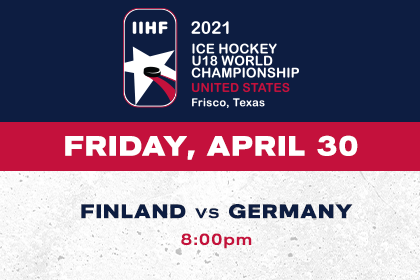 More Info for IIHF- Finland vs Germany