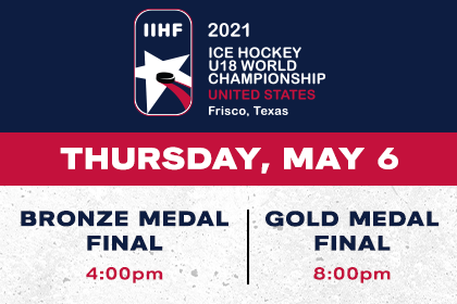 More Info for IIHF- Medal Round Games