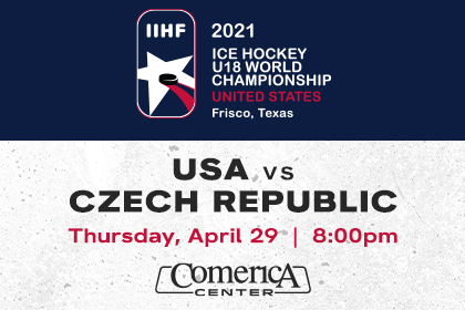 More Info for USA vs CZE