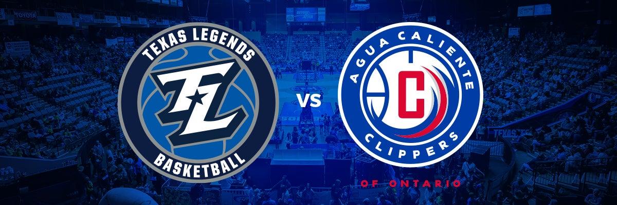 Texas Legends vs Agua Caliente Clippers