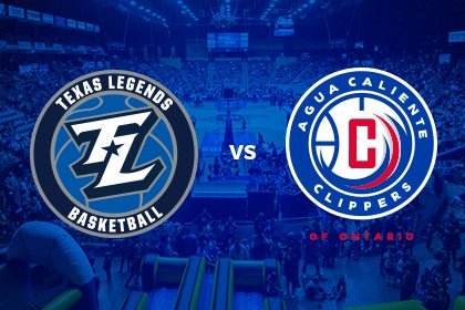 More Info for Texas Legends vs Agua Caliente Clippers