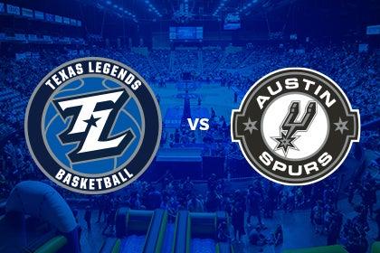 More Info for Texas Legends vs Austin Spurs