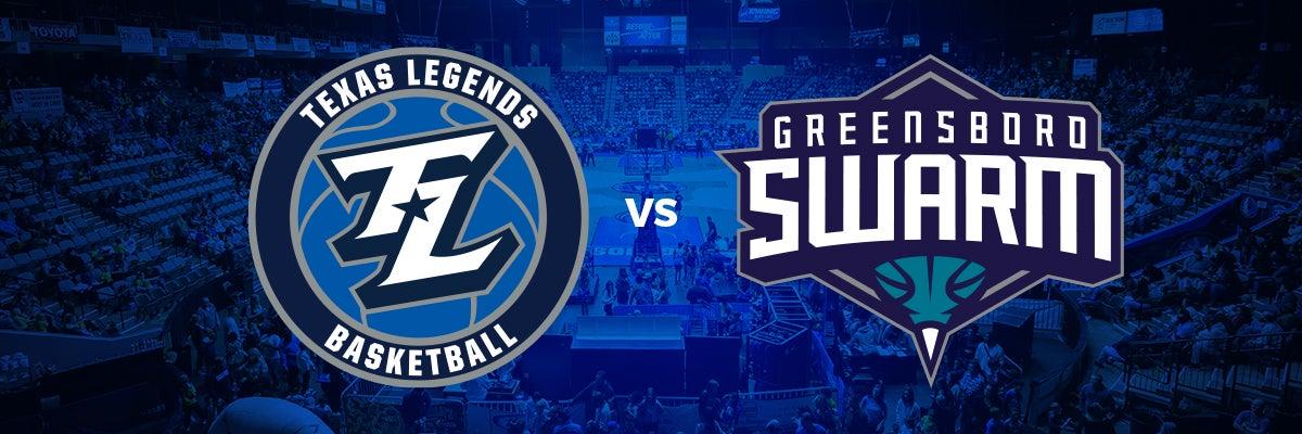 Texas Legends vs Greensboro Swarm