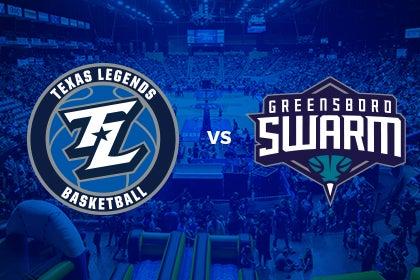 More Info for Texas Legends vs Greensboro Swarm