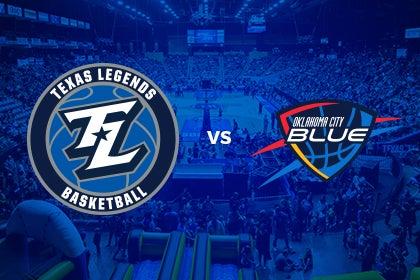More Info for Texas Legends vs Oklahoma City Blue