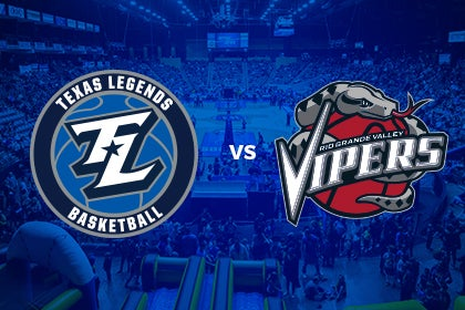 More Info for Texas Legends vs Rio Grand Valley Vipers