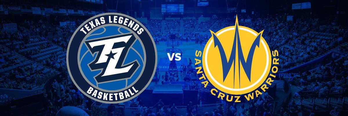 Texas Legends vs Santa Cruz Warriors