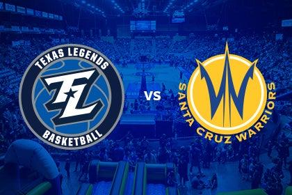 More Info for Texas Legends vs Santa Cruz Warriors