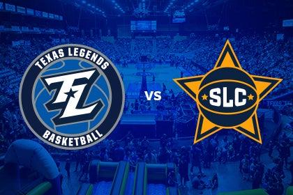 More Info for Texas Legends vs Salt Lake City