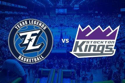 More Info for Texas Legends vs Stockton Kings