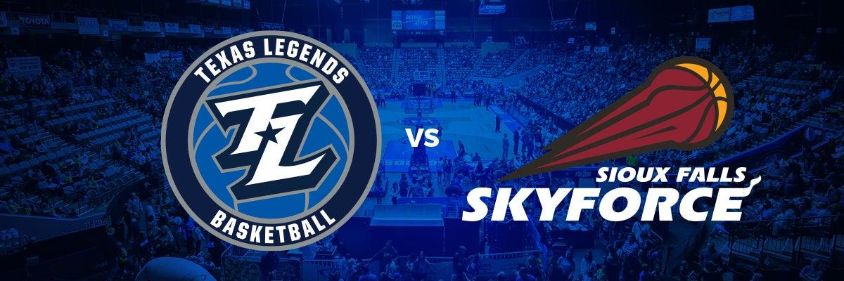 Texas Legends vs Sioux Falls Skyforce
