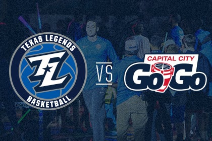 More Info for Texas Legends vs Capital City Go-Go