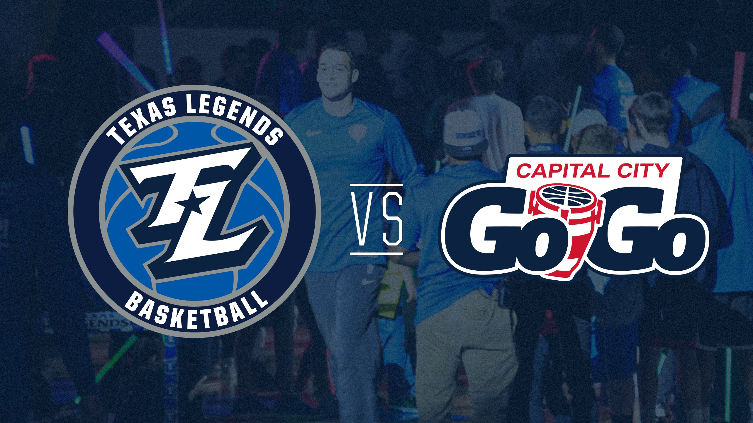 POSTPONED: Texas Legends vs Capital City Go-Go