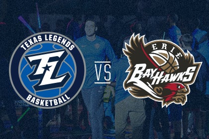 More Info for Texas Legends vs Erie Bayhawks