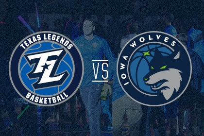 More Info for Texas Legends vs Iowa Wolves