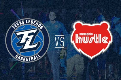 More Info for Texas Legends vs Memphis Hustle