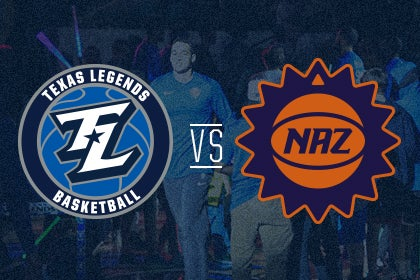 More Info for Texas Legends vs Northern Arizona Suns