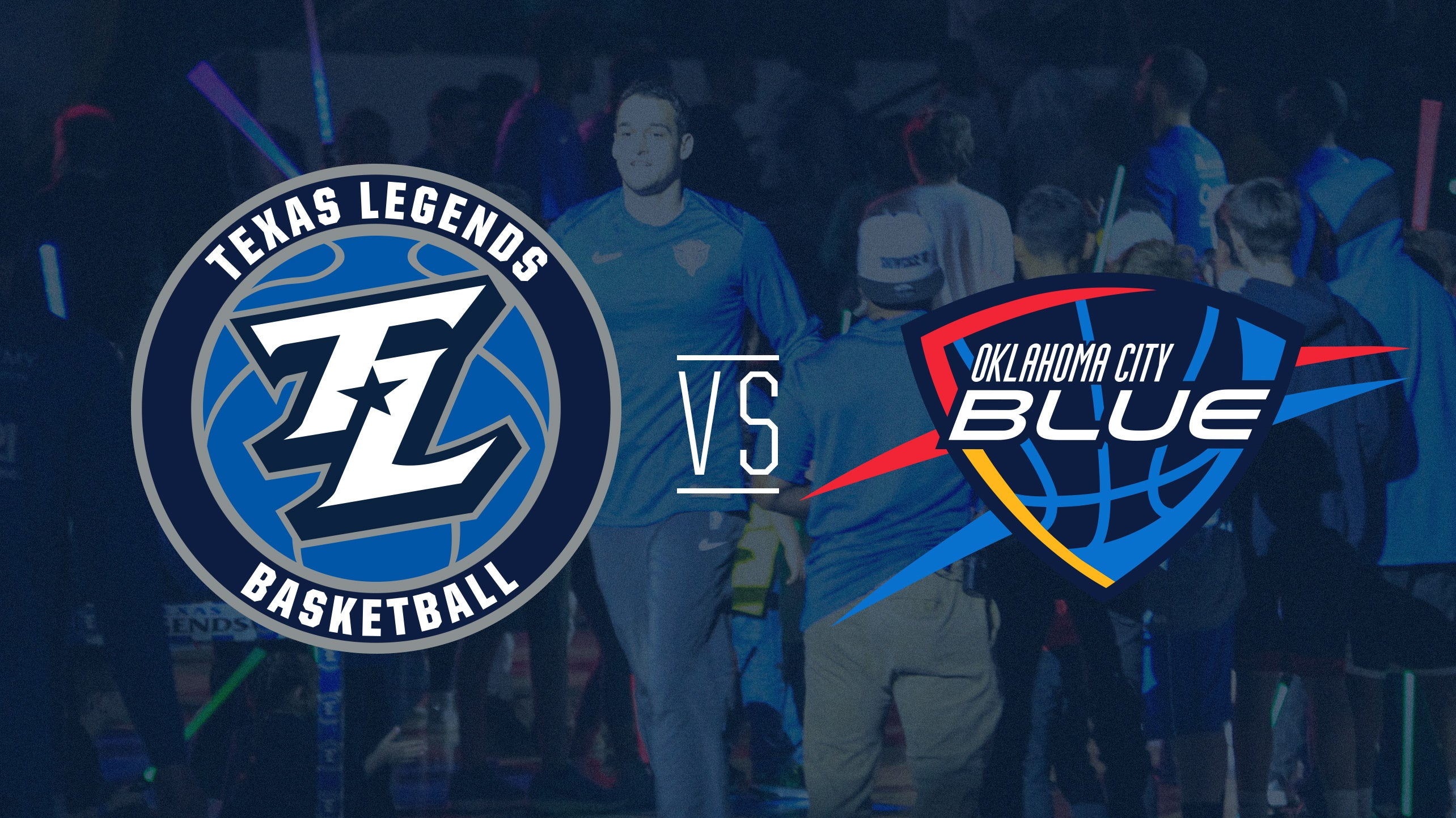 Texas Legends vs Oklahoma City Blue