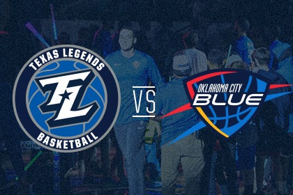More Info for Texas Legends vs Oklahoma City Blue