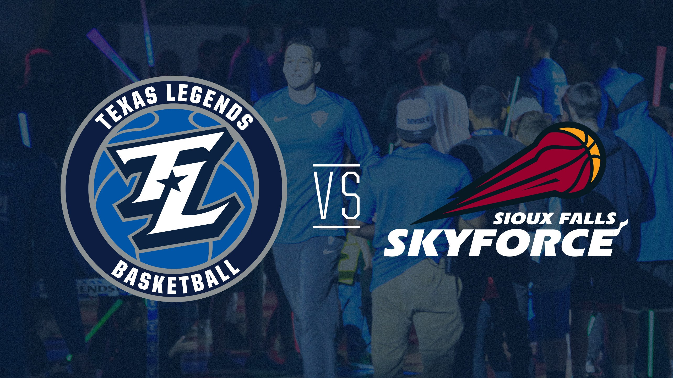 Texas Legends vs Sioux Falls Skyforce