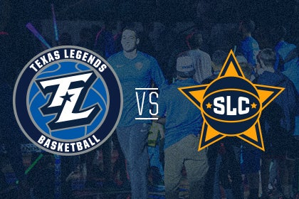 More Info for Texas Legends vs Salt Lake City Stars