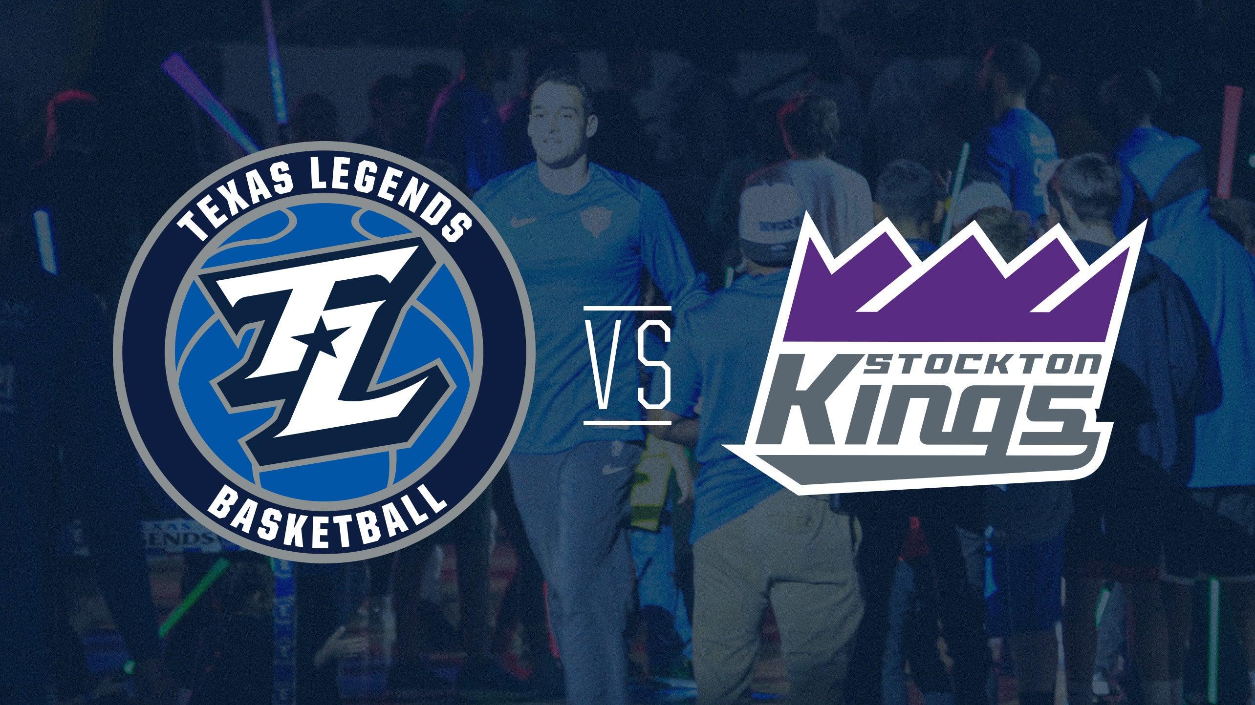 Texas Legends vs Stockton Kings