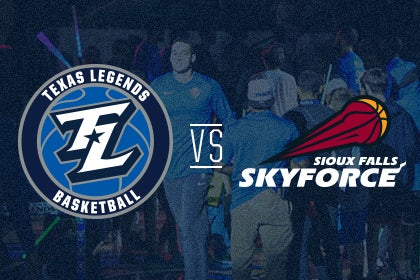 More Info for Texas Legends vs Sioux Falls Skyforce
